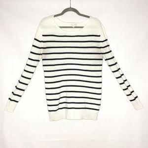 Treasure & Bond Knit Striped Lightweight Sweater